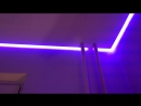 ЖК Шуваловский Парашютная 61 3 Потолок с RGB лентой красота