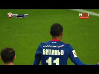 Локомотив - ЦСКА 1:1. Гол Витиньо