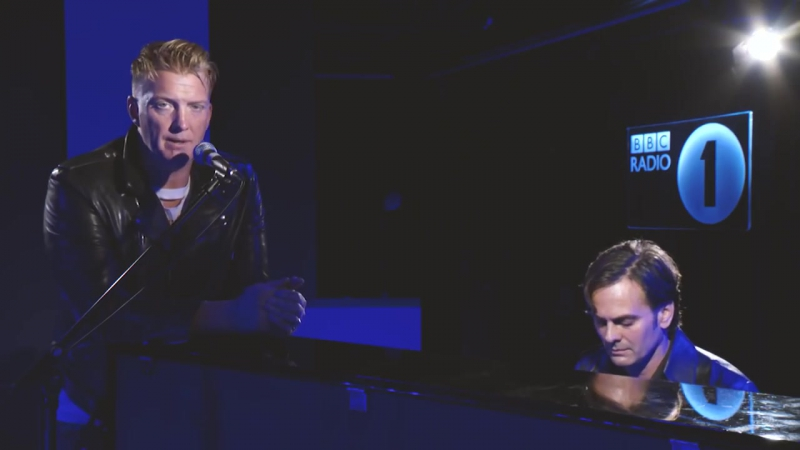 Queens of the Stone Age - Bad Boy (Marty Wilde cover) - Radio 1s Piano Sessions