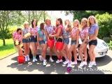 Melanie , Naomi K , Rosie W , Carla , Lucy Anne , Lily S , Suzie , Jodie Gasson , Anastasia , Daisy Watts car wash