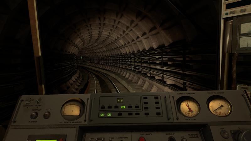 Покатушки по Кросслайн на 81-717, Garrys Mod Metrostroi