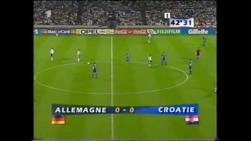 ЧМ-1998 Германия-Хорватия