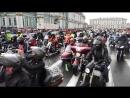 5 августа. Старт парада мотоциклистов на Дворцовой площади 2017 год.