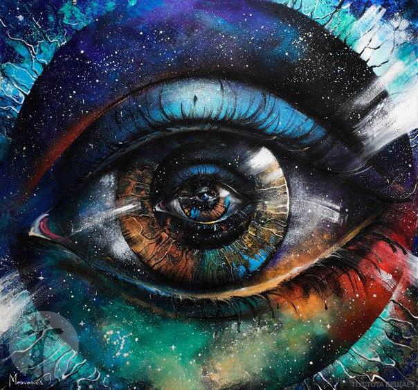 Глаз, которым я вижу Бога, является тем же глазом, которым Бог видит м
