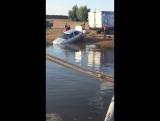Авто скатилось в реку на переправе Актаныш-Старый Янзигит
