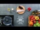 Рецепт за 90 секунд - Пенне ригате с сибасом, баклажанами и томатами черри