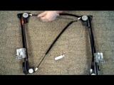 Land Rover Freelander Tailgate Back door Boot MK1 96-06 window regulator repair work