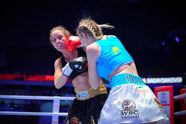 Инна Сагайдаковская завоевала чемпионский пояс WBC