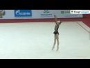 Кристина Пограничная Обруч - Квалификация на ЮОИ 2018