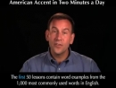 American Accent in Two Minutes a Day