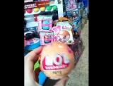 лол /кукла в шаре / LOL 1 , 2 , 3 , большой