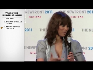 Tyra Banks Interview - Tyra Bankss Top 10 Rules For Success (@tyrabanks)