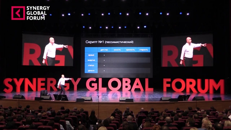 Радислав Гандапас Два сценария жизни Synergy Global Forum 2015 (1)