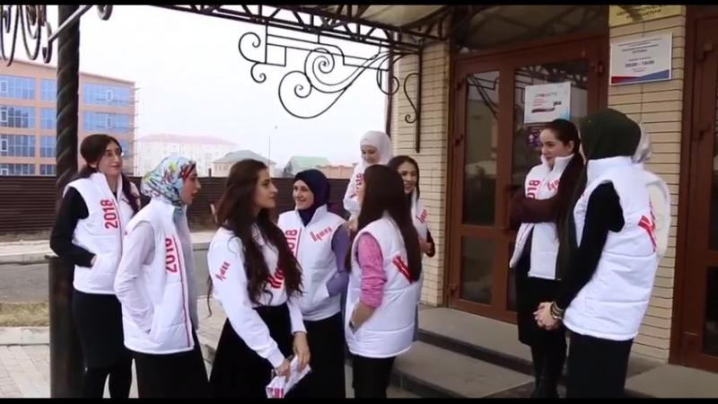 Волонтеры штаба Путина в Республике Ингушетия