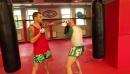 Тренировка нырков и уклонов на мешке с Андреем Басыниным урок работы на мешке в тайском боксе