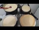 Как правильно печь блины (VIDEO ВАРЕНЬЕ)