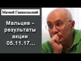 Матвей Ганапольский Мальцев - результаты акции 05.11.17 ...  Эхо Москвы 05.11.2017