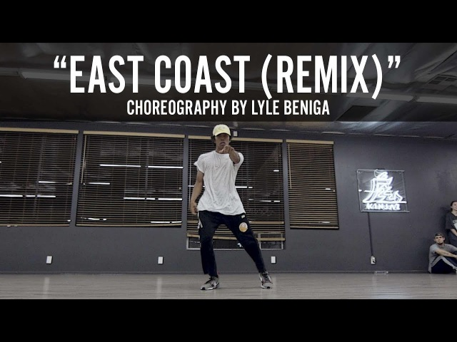 A$AP Ferg East Coast Remix Choreography by Lyle Beniga