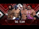 Straight Edge Society vs Double Trouble 1st contender for the Tag Team Championship