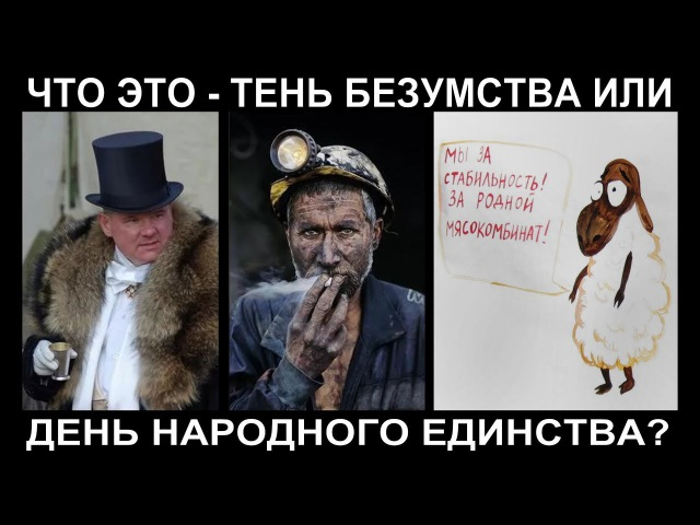 День народного единства, это превращения народов России в стадо мечты? Ульяновск 04.11.17