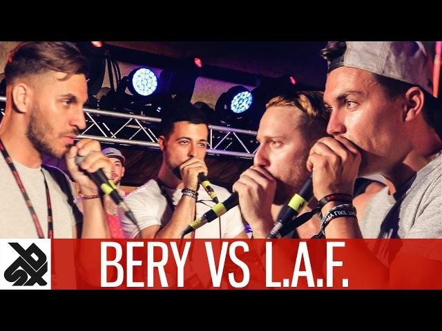 BERY vs L.I.A.F.   WBC Tag Team Battle   FINAL