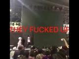 A$AP Rocky ломает микрофон