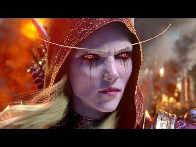 БИТВА ЗА АЗЕРОТ   Трейлер русский (BlizzCon 2017)   Игра World of Warcraft