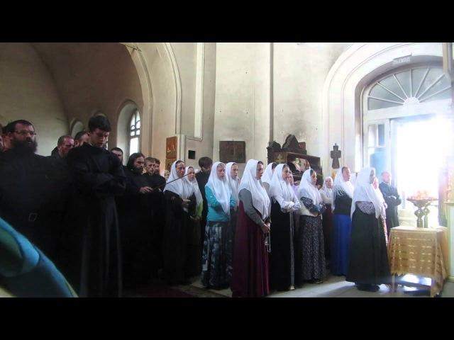 Царю Небесный знаменный распев глас 6-и (Старообрядцы - Lipoveni - Old believers)