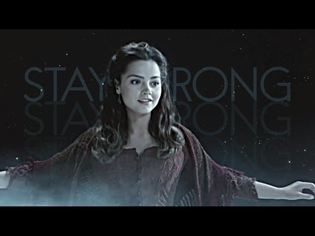 Clara oswald   stay strong (experiment)