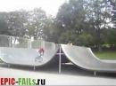 Фейл на BMX / BMX Ramp Jump FAIL