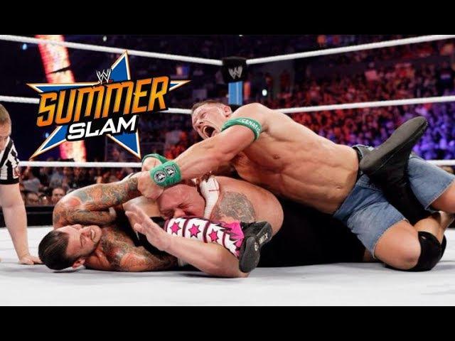 WWE John Cena Vs CM Punk Vs Big Show Summerslam 2012 Highlights