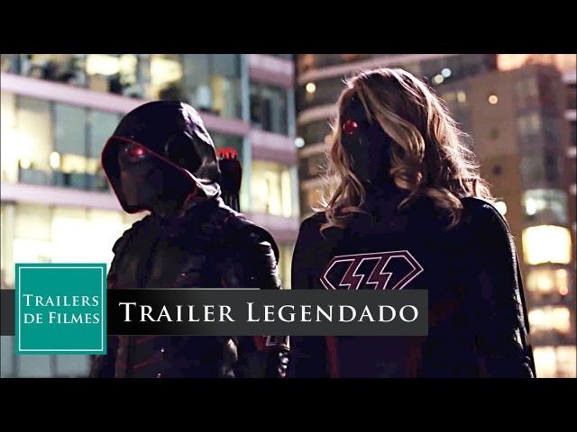 Crise na Terra-X - Novo Crossover das series DC CW 2017 - Trailer Legendado