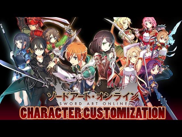 Sword Art Online Integral Factor MMORPG - Character Customization - Mobile