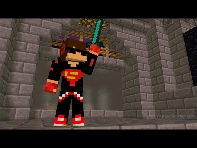 Играем в SkyGiants на сервере MinePlay ! Minecraft SkyGiants Minecraft Мини игра