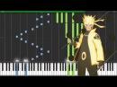 "[Naruto Shippuden Opening 19] ""Blood Circulator"" - AKFG (Synthesia Piano Tutorial) [MIDI + Sheets]"