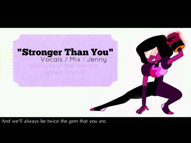 【Jenny】 » Steven Universe • Stronger Than You - cover «