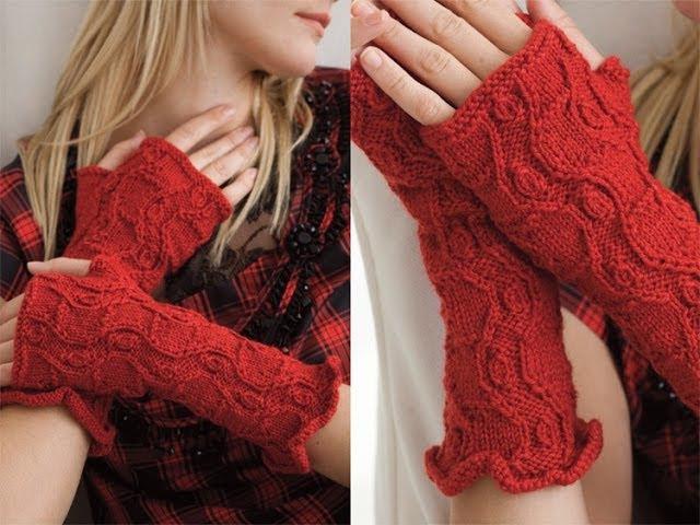 32 Fingerless Gloves Vogue Knitting Fall 2011