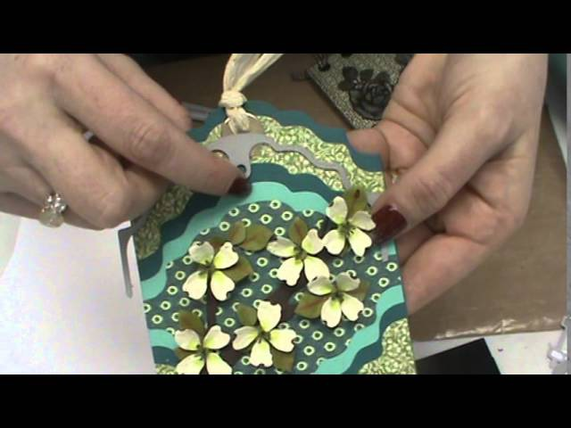 114 Floating Tags from Elizabeth Crafts MORE Sizzix Transfer Pad by Scrapbooking Made Simple