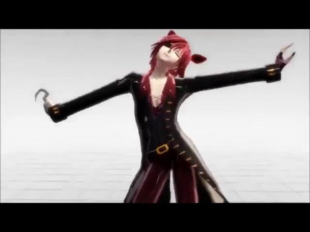 Танец Фокси аниме фнаф