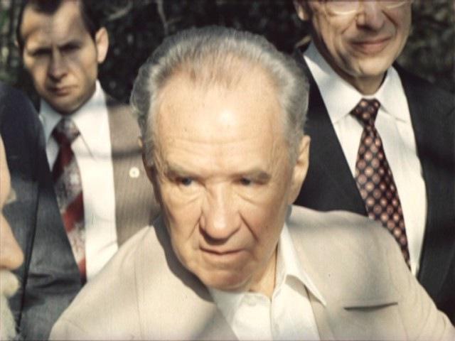 А.Н.Косыгин в гостях у С.Н.Рериха в Бангалоре. 22 марта 1979 г.