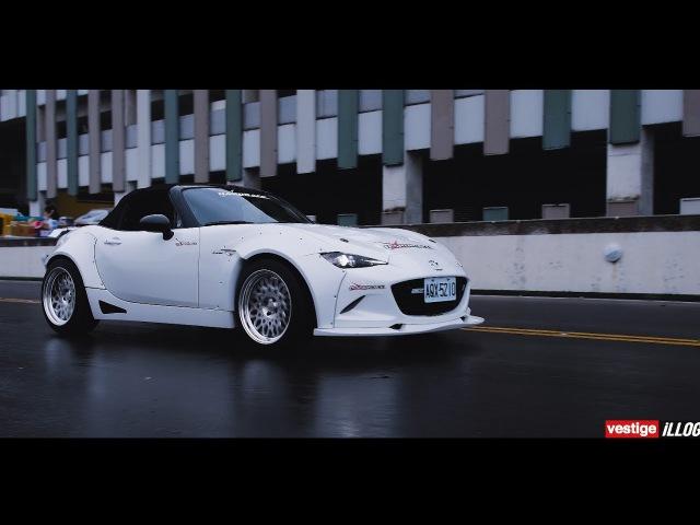He loves Mazda Rocket bunny RX7 Aimgain MX 5