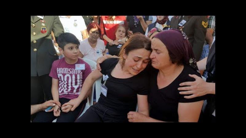 Şehit Uzman Çavuş Ceylan Aydın'da son yolculuğuna uğurlandı