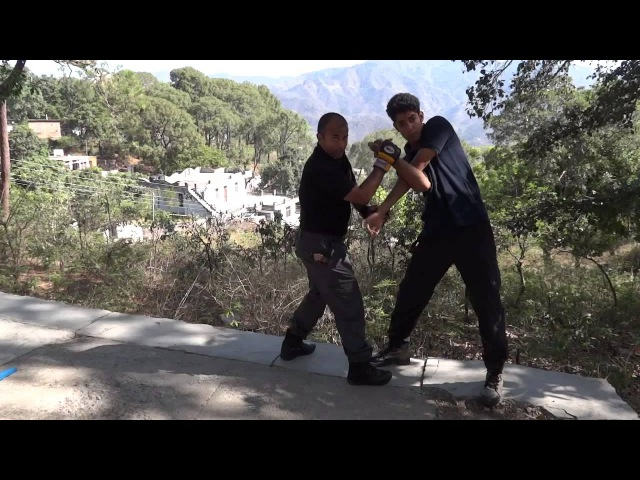Shifu Kanishka demonstrating Jeet Kune Do