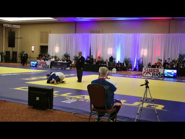 2012 Judo WC Veterans, GLYVUK (RUS) - CENA (RKS) [M4-73kg]