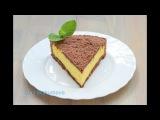 Домашний пирог с творогом и какао  Cheesecake