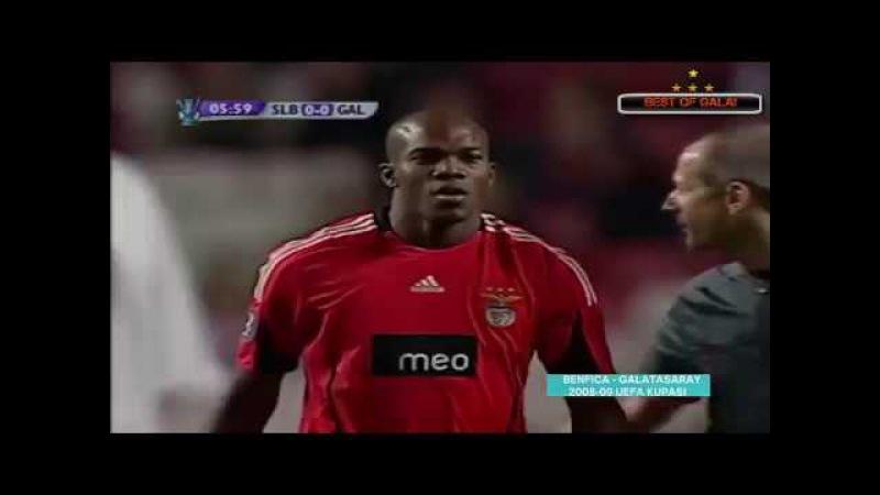 SL Benfica 0 - 2 Galatasaray | Nostalji | ( 2008-09 Uefa Kupası) Full Match