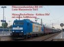 4k Führerstandsmitfahrt Linke Rheinstrecke Mainz - Koblenz (Teil I)