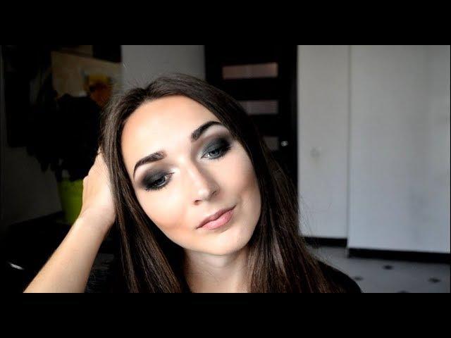 Макияж SMOKY EYES c тенями от Flormar / макияж 2017/ вечерний макияж