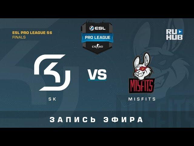 SK vs Misfits - ESL Pro League S6 Finals - map2 - de_overpass [Enkanis, yXo]