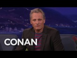 Viggo Mortensen Wanted To Be A Crow When He Grew Up - CONAN on TBS
